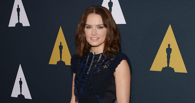 Watch Daisy Ridley Face Judi Dench's 'Star Wars' Questions