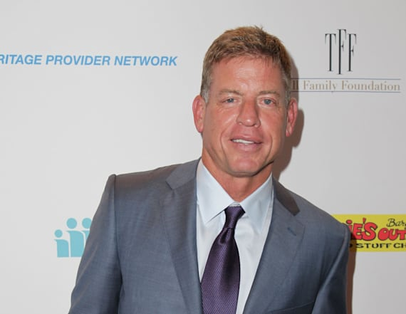 So, Troy Aikman kind of looks like Jay Z