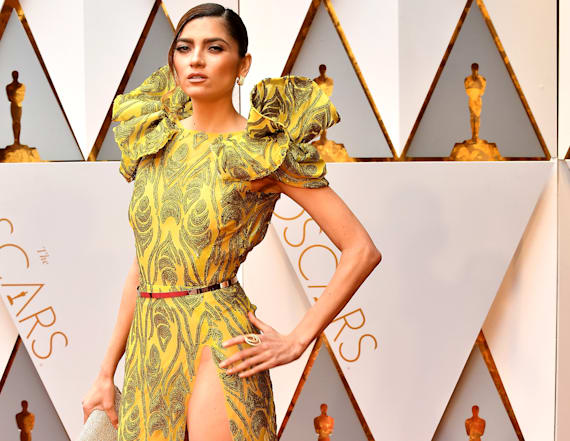 Actress flashes crotch at Oscars