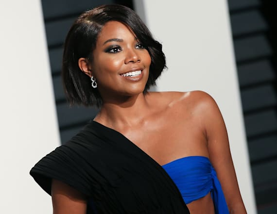 Gabrielle Union rocks barely-there dress