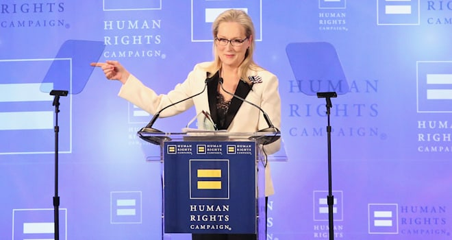 Meryl Streep Reacts to Donald Trump Calling Her 'Overrated'