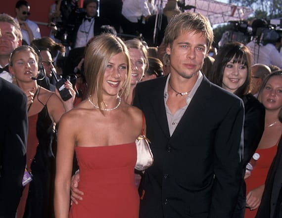 Brad Pitt sends Jennifer Aniston text message