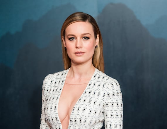 Sexy Stars: Brie Larson rocks cleavage-baring style