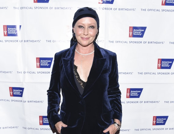 Shannen Doherty completes chemo, steps out