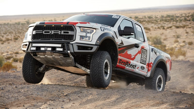 2017 Ford F-150 Raptor will compete in factory stock off-road racing class