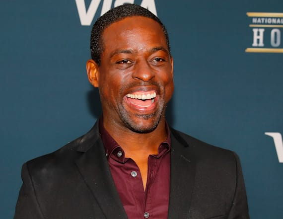 'This Is Us' star Sterling K. Brown flaunts six-pack