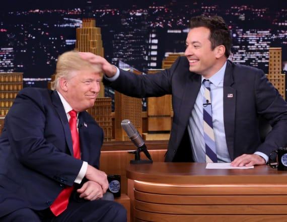 Corden defends Fallon over Trump interview