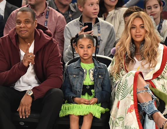 Pictures of Blue Ivy going viral
