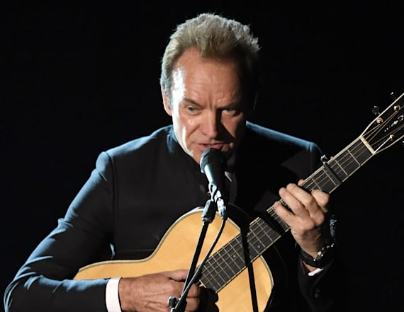 Watch Sting perform at the Oscars