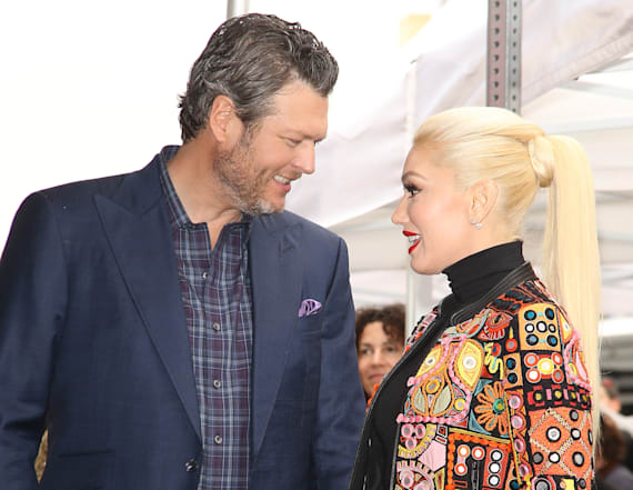 Gwen didn't know who Blake was pre-'Voice'