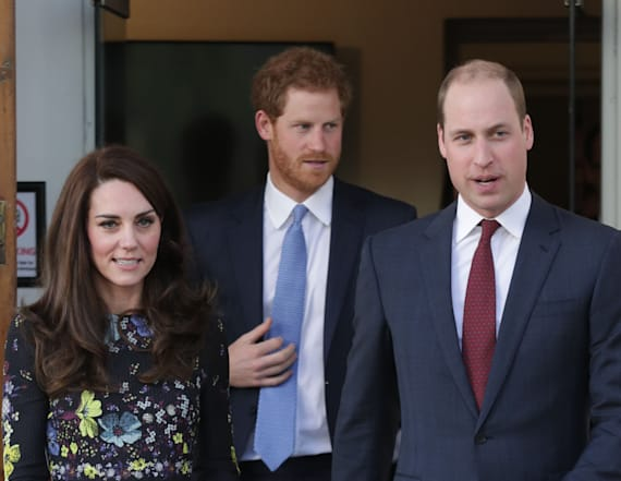 Kate, Harry and William team up for a good cause