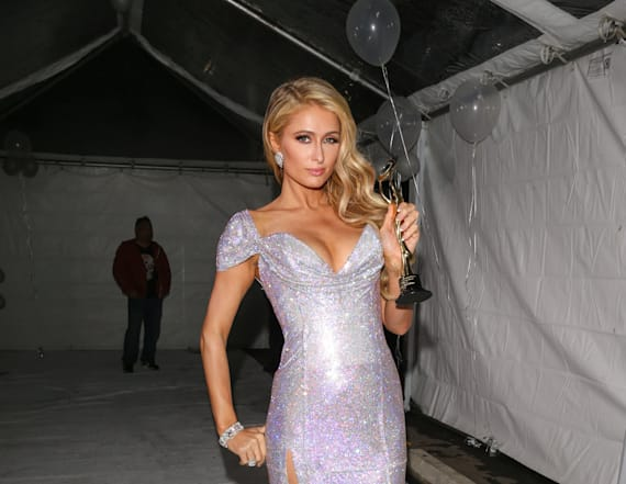 Paris Hilton strips down for new photoshoot
