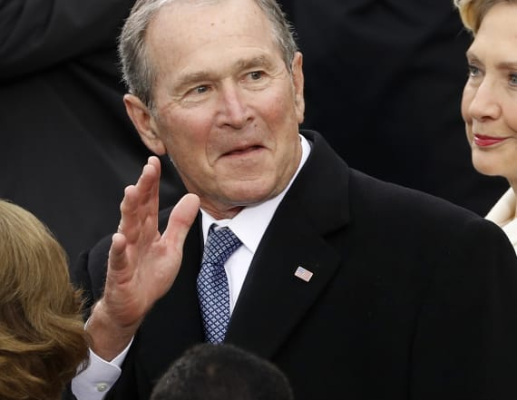 George W. Bush voiced opinion at Trump inauguration