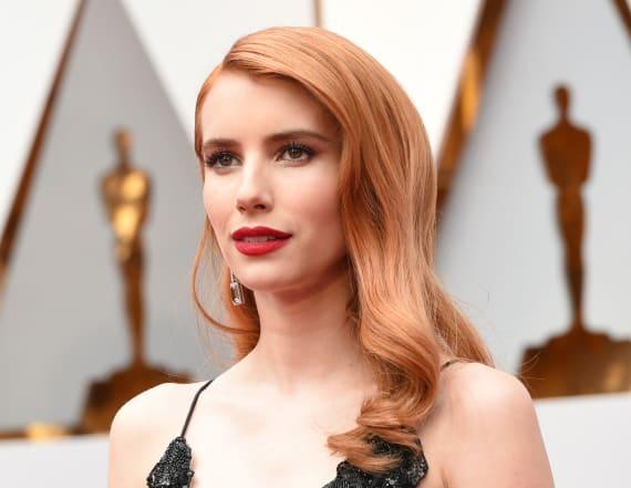 Emma Roberts debuts drastic new look