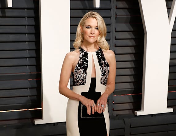 Megyn Kelly rocks cutout dress at VF Oscars party
