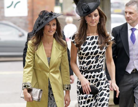 See Kate and Pippa as bridesmaids