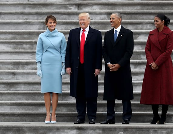 Inauguration photo has twitter concerned for Melania