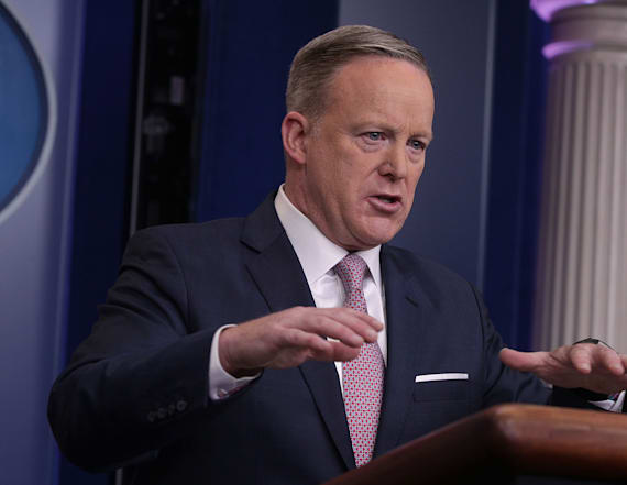Sean Spicer reveals bizarre eating habit
