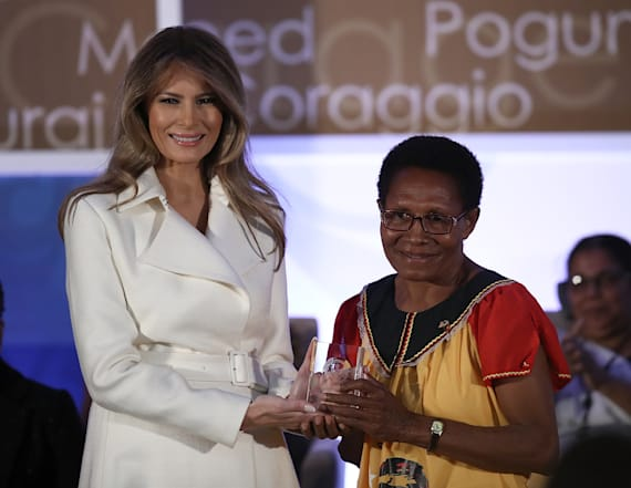 Melania Trump speaks out on women's empowerment