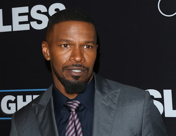 Jamie Foxx videotapes men hurling slurs