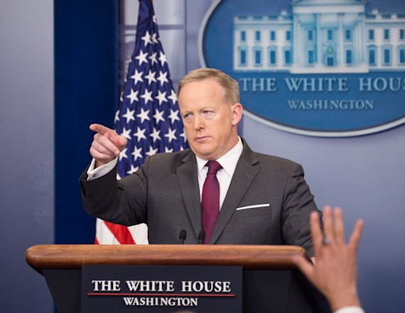 WATCH LIVE: Sean Spicer holds daily press briefing