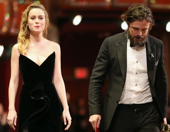 Brie Larson on why she didn't clap for Casey Affleck