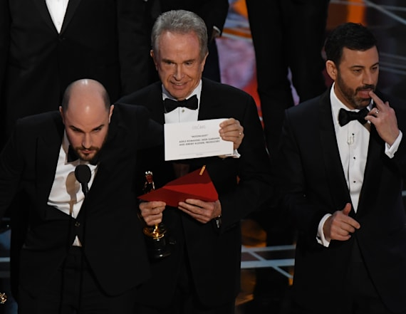 Wrong Best Picture gets announced at Oscars