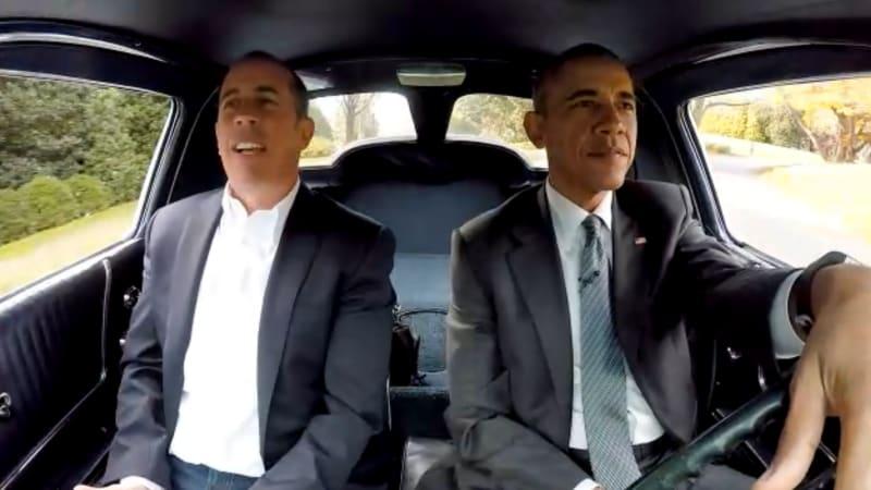 Watch President Obama Drive A Corvette Around The White