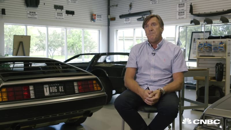 stephen wynne liked fixing deloreans so much he bought the company autoblog. Black Bedroom Furniture Sets. Home Design Ideas