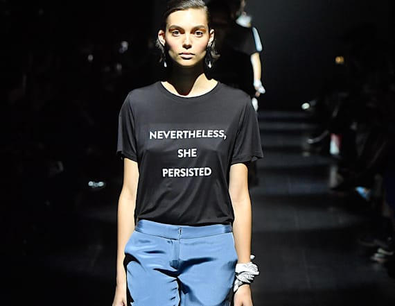 Designers make powerful political statements at NYFW