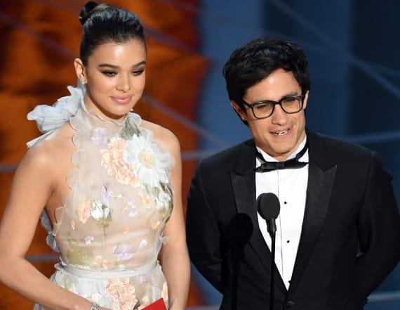 Actor slams Donald Trump's wall at Oscars