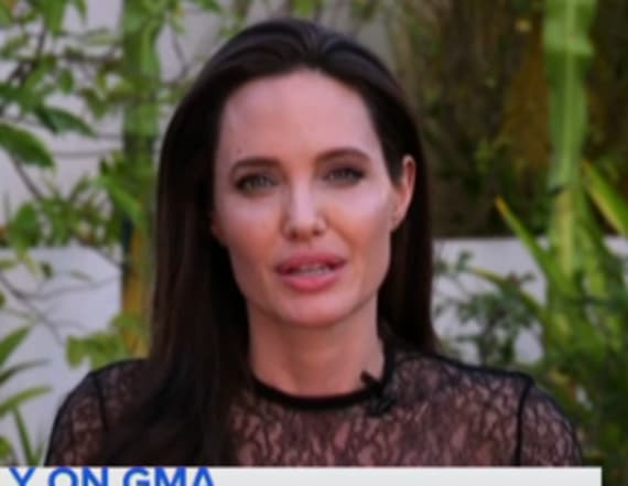 Angelina Jolie gets emotional about Brad Pitt