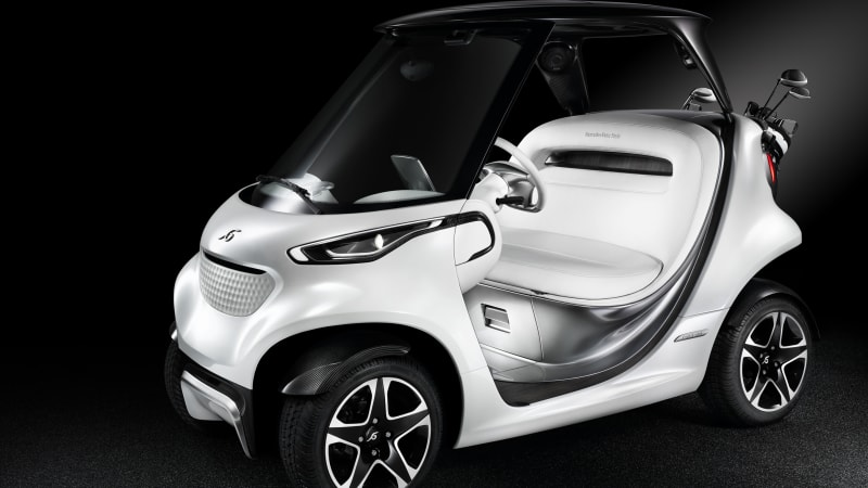 Mercedes-Benz plans to bring bling to the golf course