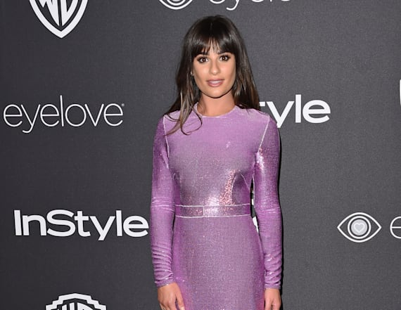Lea Michele shares intimate throwback pic
