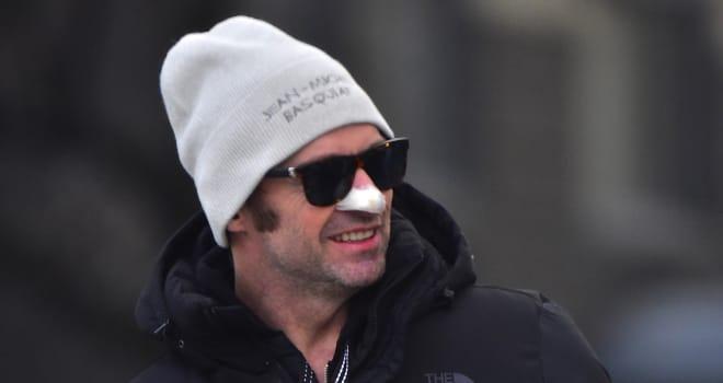 Hugh Jackman Shares Another Skin Cancer Treatment Photo