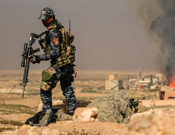 US-backed Iraqi troops storm ISIS-held Mosul