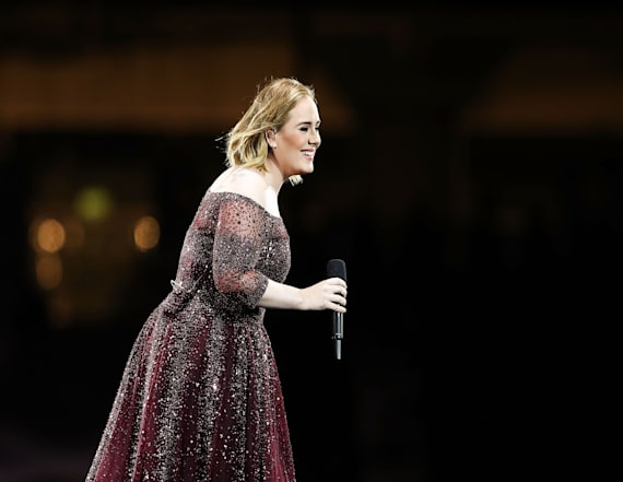 Adele drops bombshell at final tour stop