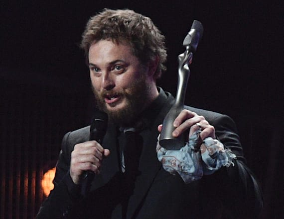 David Bowie's son accepts BRIT award for him