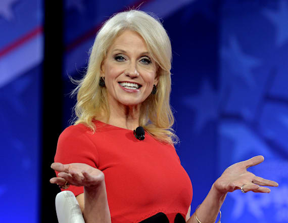 Kellyanne Conway denies she was 'sidelined' from TV