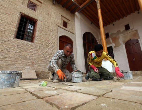 Erbil works to rebuild citadel