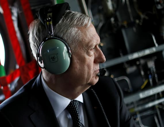 Jim Mattis makes unannounced trip to Afghanistan