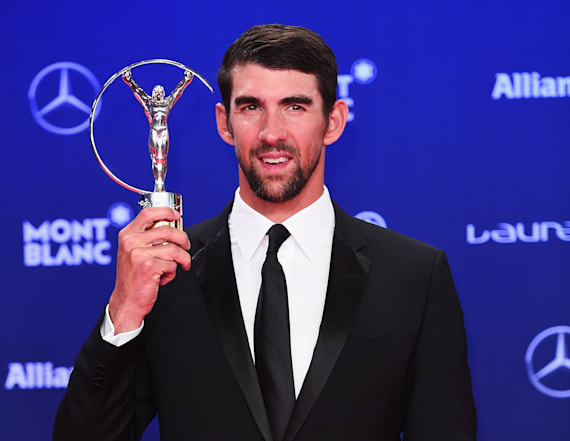 Phelps wins big at Laureus Awards