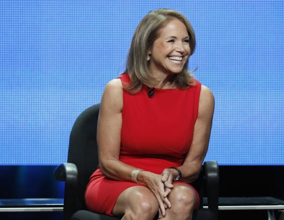 Katie Couric trying to make a 'Today' comeback