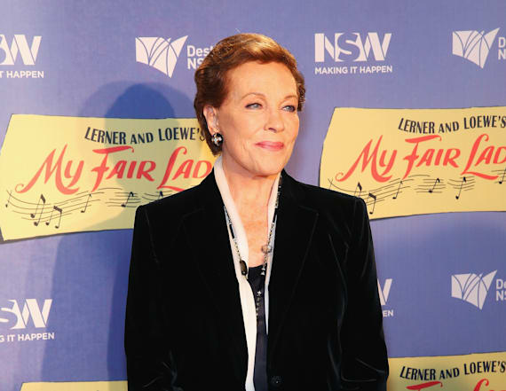Julie Andrews almost died while filming movie