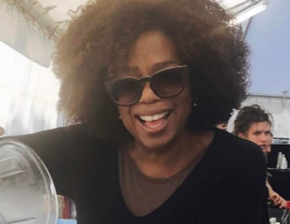 Photos of Oprah mixing margaritas go viral
