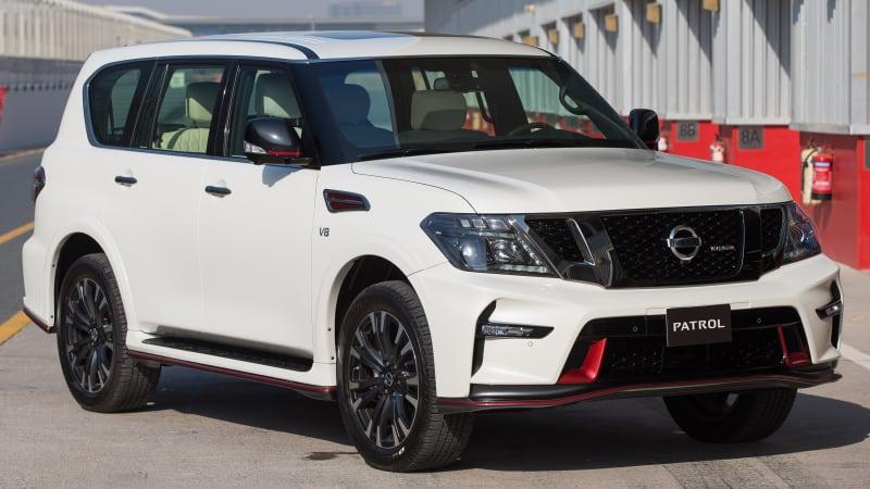 Nissan reveals Patrol Nismo in Dubai
