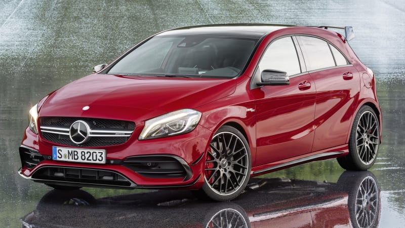Mercedes A-Class refresh includes crown-stealing 381-hp A45 AMG