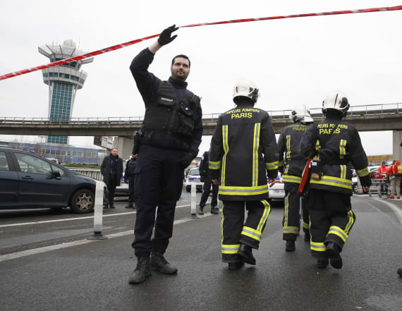 Two suspects investigated over Paris airport attack