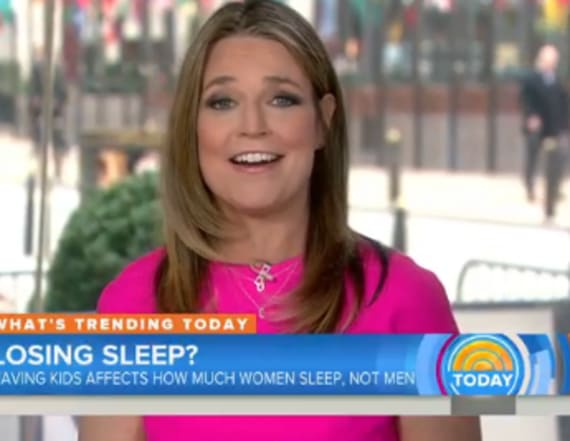 Savannah Guthrie suffers slip-up on 'Today'
