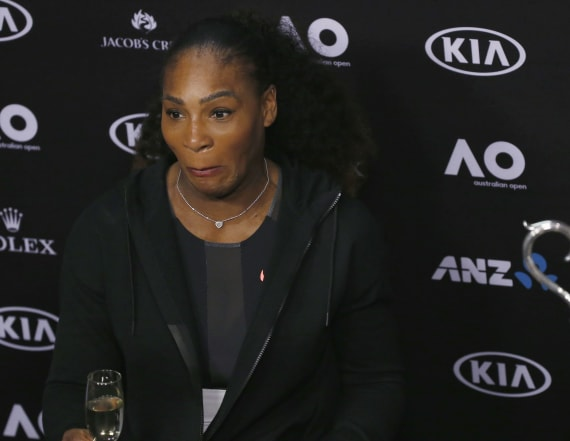 Serena says she 'slipped' in revealing her pregnancy